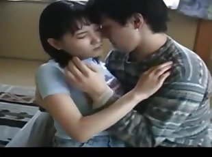 Asia , Cumshot , Hairy , Japanese , Old Young , Skinny , Small Tits