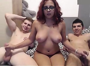 Big Tits , Gang bang , Handjobs , Redhead , Webcam