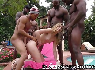Gang Bang , Idirracial , Teen