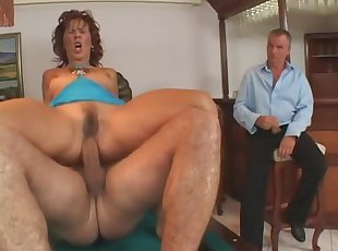 Mature , Old Young , Redhead , Wife , Cumshot