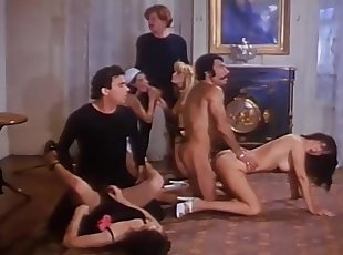 Group Sex , Hairy , Handjobs , Retro