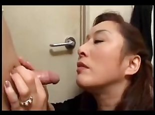 Amateur , Asia , Cumshot , Japanese , Mature , Mom , Old Young