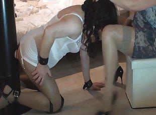 BDSM , Bielizna damska , Rajstopy , Pończocha