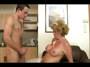 Cumshot , Grannies , Hairy , Old Young , Young