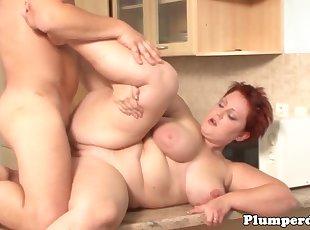 BBW , Big Tits , Redhead