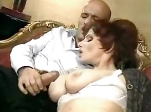 Big Tits , Euro , Mature , Mom , Old Young , Retro
