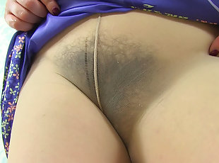 Euro , Hairy , Mature , Old Young , Pantyhose
