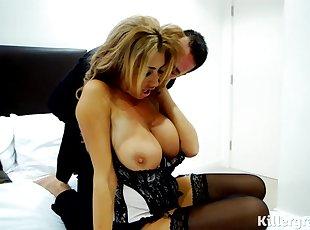 Big Tits , Doggy , Euro