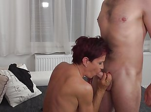 Amateur , Euro , Grannies , Mature , Mom , Old Young , Redhead