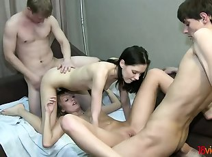 Group Sex , Russian , Teen