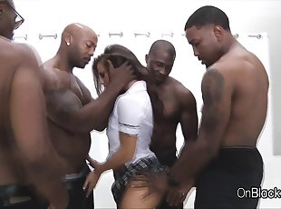 Ebony , Gang bang , Double Penetration , Teen , Big Tits