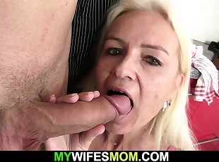 Blonde , Euro , Grannies , Mature , Mom , Old Young , Young