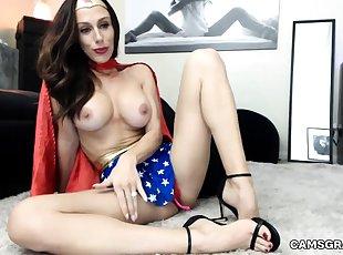 Store bryster , Webcam