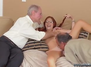 Amateur , Blonde , Old Young , Young