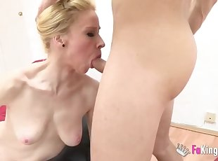 Amateur , Blonde , Cumshot , Facial