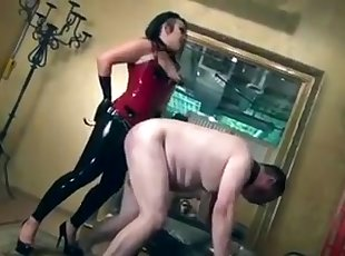 Amateur , Asia , BDSM , Chinese , Latex , Strapon