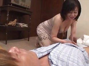 Asia , japonez , Matur , Mamă , Old Young , Soție