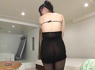 Asia , Creampie , Hairy , Japanese , Pantyhose