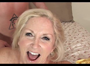 Grannies , Mature , Old Young , Young , BabySitters , Cumshot